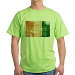 Ivory Coast Flag Green T-Shirt