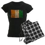 Ivory Coast Flag Women's Dark Pajamas