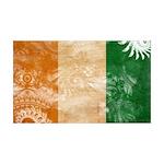 Ivory Coast Flag 38.5 x 24.5 Wall Peel