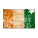 Ivory Coast Flag 22x14 Wall Peel