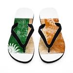 Ivory Coast Flag Flip Flops