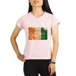 Ivory Coast Flag Performance Dry T-Shirt