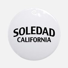 Soledad California Ornament (Round)