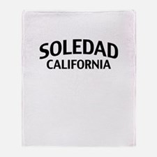 Soledad California Throw Blanket