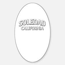 Soledad California Sticker (Oval)