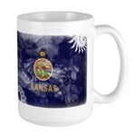 Kansas Flag Large Mug