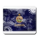 Kansas Flag Mousepad