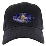 Kansas Flag Black Cap