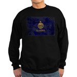 Kansas Flag Sweatshirt (dark)