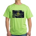 Kansas Flag Green T-Shirt