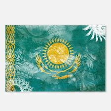 Kazakhstan Flag Postcards (Package of 8)