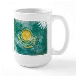 Kazakhstan Flag Large Mug