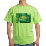 Kazakhstan Flag Green T-Shirt