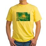 Kazakhstan Flag Yellow T-Shirt