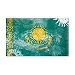 Kazakhstan Flag 22x14 Wall Peel