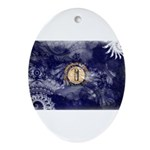 Kentucky Flag Ornament (Oval)