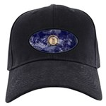 Kentucky Flag Black Cap