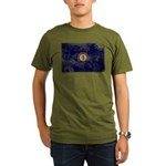 Kentucky Flag Organic Men's T-Shirt (dark)