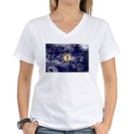 Kentucky Flag Women's V-Neck T-Shirt