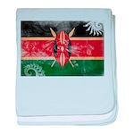 Kenya Flag baby blanket