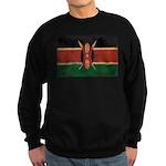 Kenya Flag Sweatshirt (dark)
