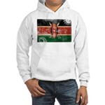 Kenya Flag Hooded Sweatshirt