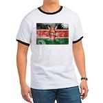 Kenya Flag Ringer T