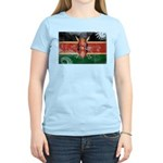Kenya Flag Women's Light T-Shirt