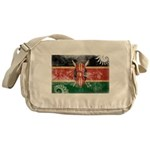 Kenya Flag Messenger Bag