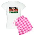 Kenya Flag Women's Light Pajamas