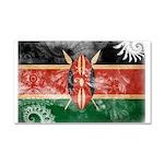 Kenya Flag Car Magnet 20 x 12