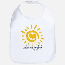 Wake Up Joyful Bib