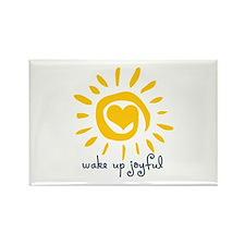 Wake Up Joyful Rectangle Magnet