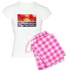 Kiribati Flag Pajamas