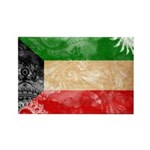 Kuwait Flag Rectangle Magnet (100 pack)