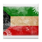 Kuwait Flag Tile Coaster