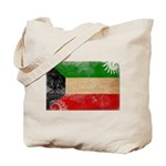 Kuwait Flag Tote Bag