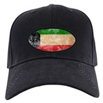 Kuwait Flag Black Cap