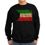 Kuwait Flag Sweatshirt (dark)