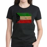 Kuwait Flag Women's Dark T-Shirt