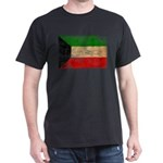 Kuwait Flag Dark T-Shirt