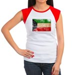 Kuwait Flag Women's Cap Sleeve T-Shirt