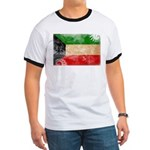 Kuwait Flag Ringer T