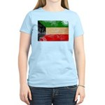 Kuwait Flag Women's Light T-Shirt