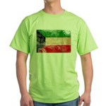 Kuwait Flag Green T-Shirt