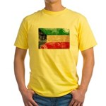 Kuwait Flag Yellow T-Shirt
