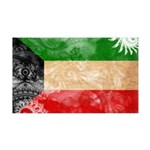 Kuwait Flag 38.5 x 24.5 Wall Peel