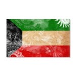 Kuwait Flag 22x14 Wall Peel