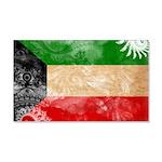 Kuwait Flag 22x14 Wall Peel