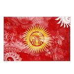 Kyrgyzstan Flag Postcards (Package of 8)